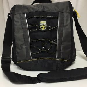 Timberland Black Yellow Crossbody Bag